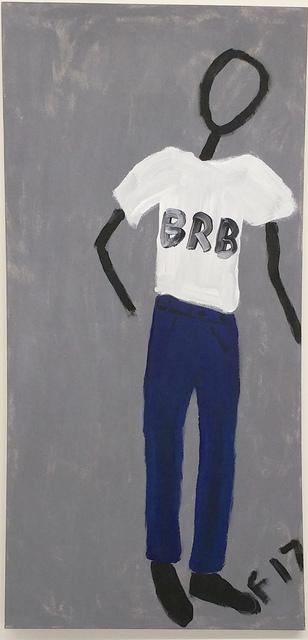 , 'BRB,' 2017, Robert Kananaj Gallery
