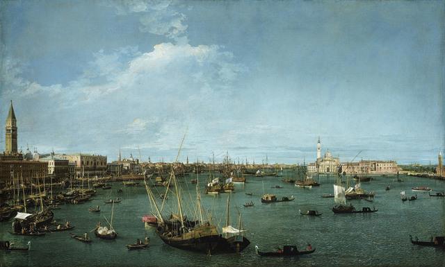 , 'Bacino di San Marco, Venice,' ca. 1738, Kimbell Art Museum