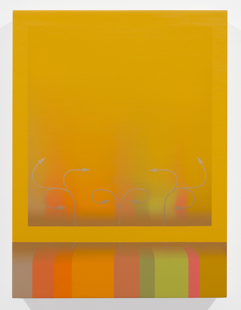 , 'Study for Income Flux,' 2013, Luis De Jesus Los Angeles