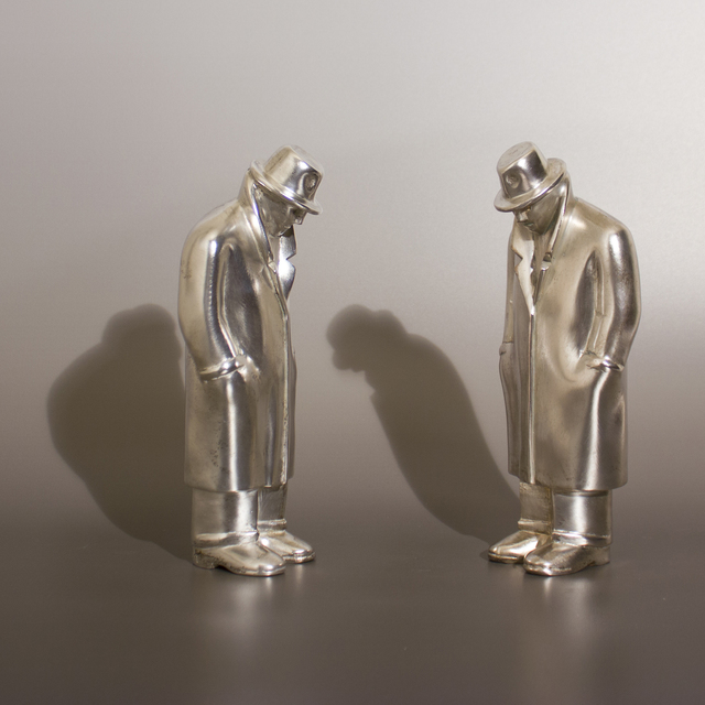 , 'Two Equals - Silver,' , HOHMANN