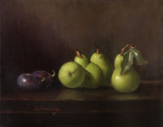 Elizabeth Spencer, 'Green and Violet', 2019, The Galleries at Salmagundi