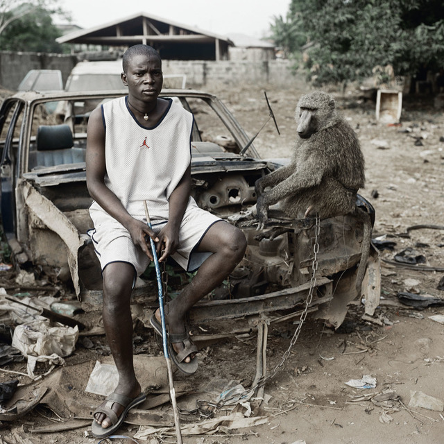 , 'Umoru Murtala with School Boy, Asaba, Nigeria,' 2007, galerie nichido / nca | nichido contemporary art