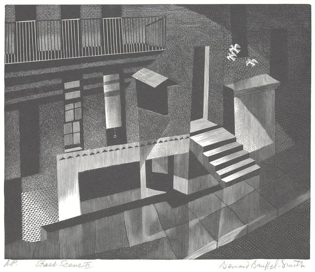 , 'City Scene II or Street Scene II or Fortieth Street [New York],' 1949, Childs Gallery