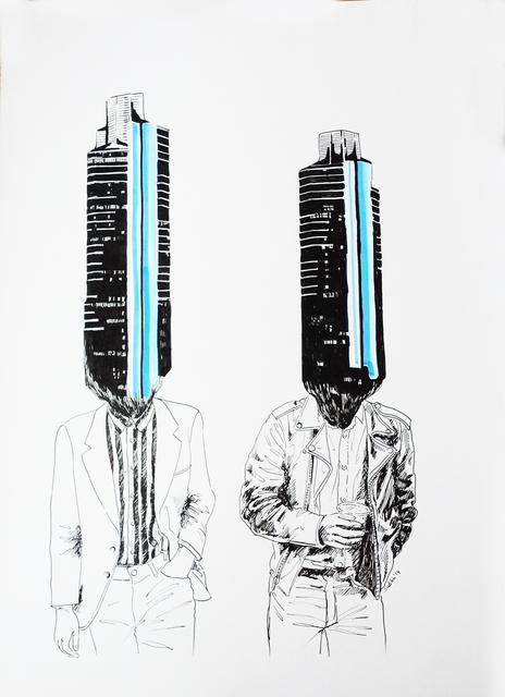 , 'Urban Men,' 2014, Merkur
