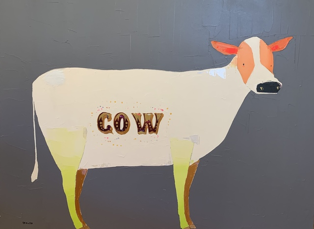 , 'Cow,' 2019, Shain Gallery