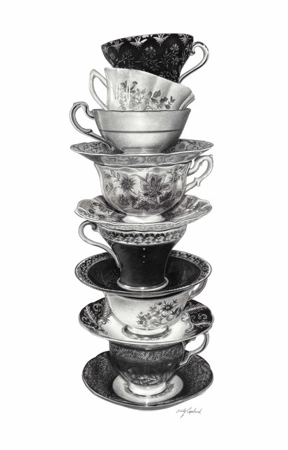 , 'Stack of Teacups ,' 2015, Bernarducci Meisel Gallery