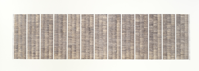 , 'For a Poet,' 2014, The Drawing Works
