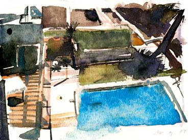 , 'No Title (Pool II),' 2007, Aki Gallery