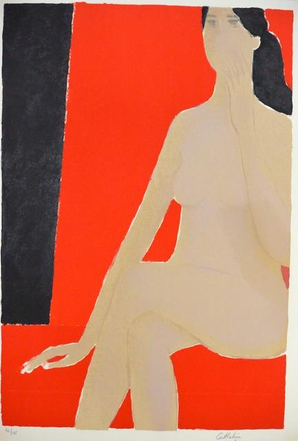 , 'Nu au fauteuil rouge,' 1978, Artioli Findlay