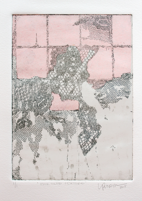 , 'Pink Tiled Texture,' 2015, Geary Contemporary