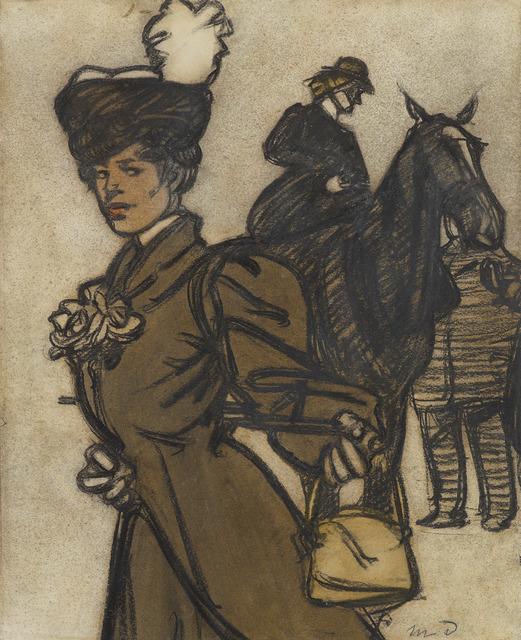 , 'Jeune femme et amazone,' , Stoppenbach & Delestre