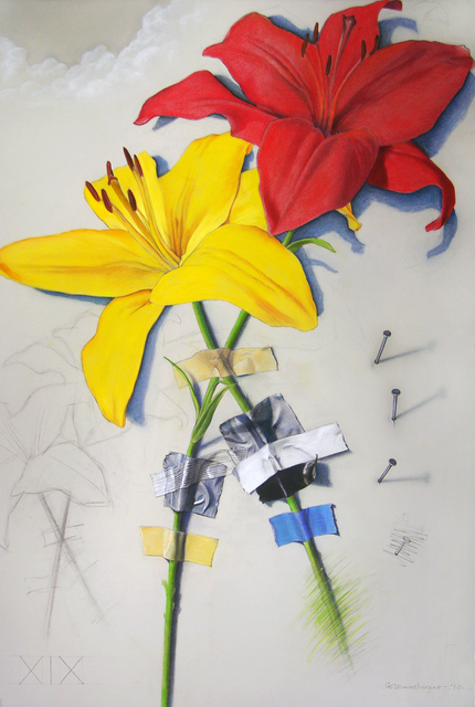 , 'Wall Flower 19,' 2012, The Bonfoey Gallery