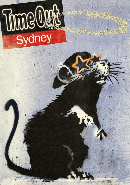 Banksy, 'Time Out Sydney', 2010, Print, Offset lithograph in colours on 115gsm recycled paper, Tate Ward Auctions