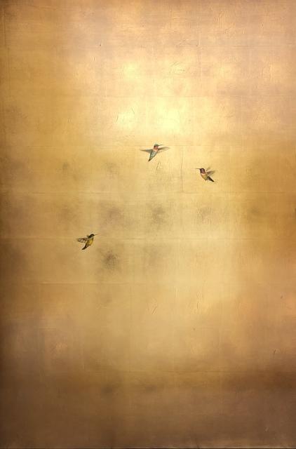 Carolyn Reynolds, 'Golden Trio in Spring', 2019, Dawson Cole Fine Art