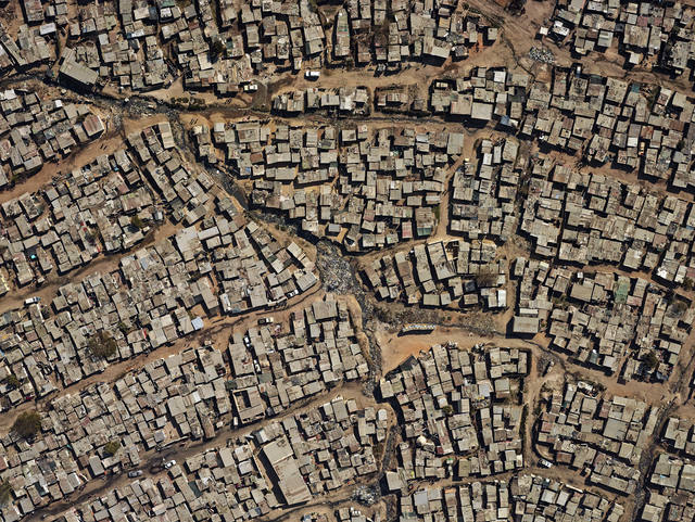 """, 'Aerial view of Diepsloot, from the series """"Kin"""",' 2013, PRISKA PASQUER"""