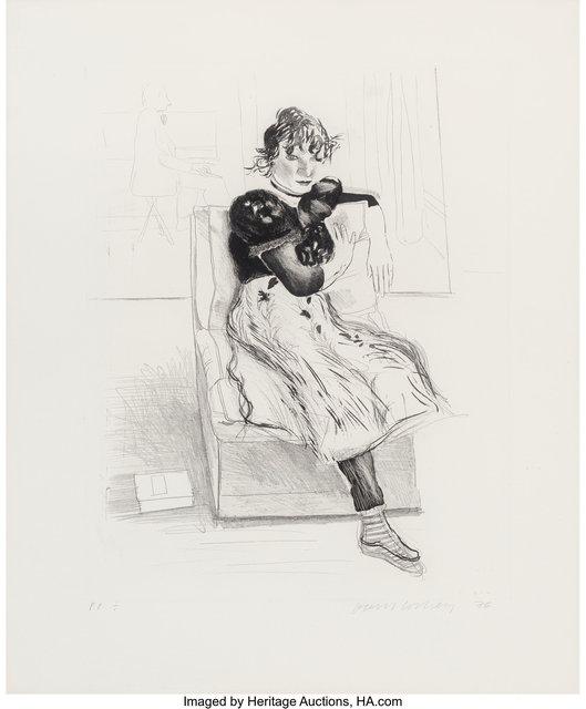 David Hockney, 'Celia Observing', 1976, Heritage Auctions