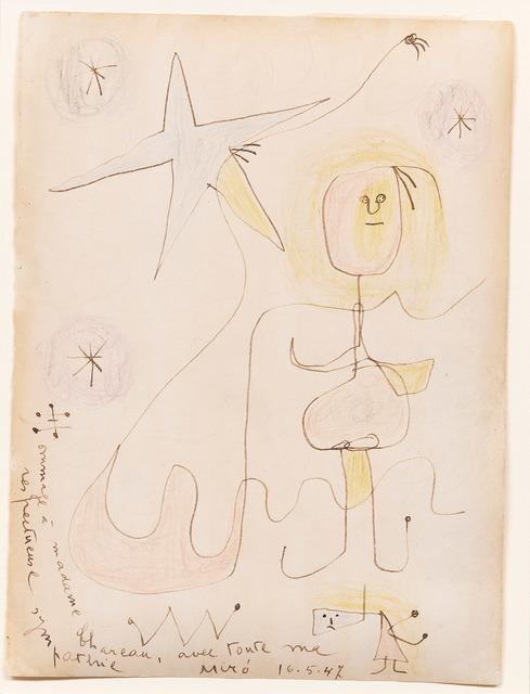 , 'Hommage à Madame Chareau,' 1947, DICKINSON