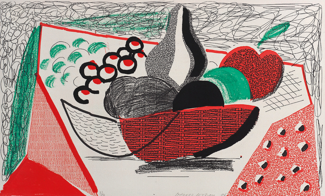 David Hockney, 'Apples, Pears & Grapes, May 1986', 1986, Phillips