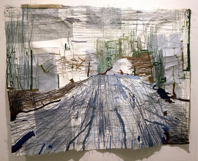 , ' Home, Stitch, Walk,' , Momentum Gallery