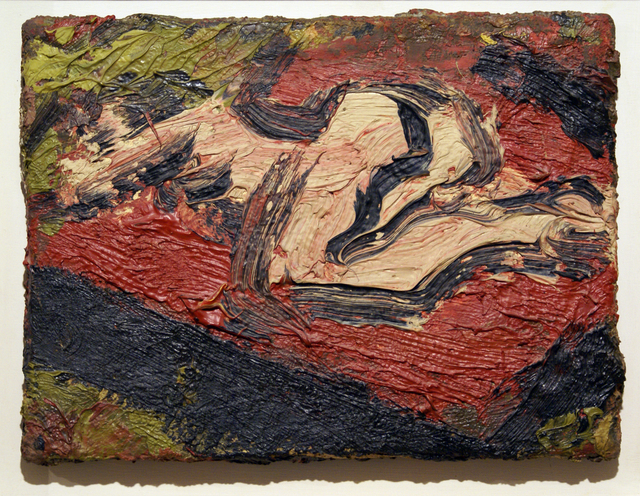 Leon Kossoff, 'Nude on Bed', 1971, Bernard Jacobson Gallery