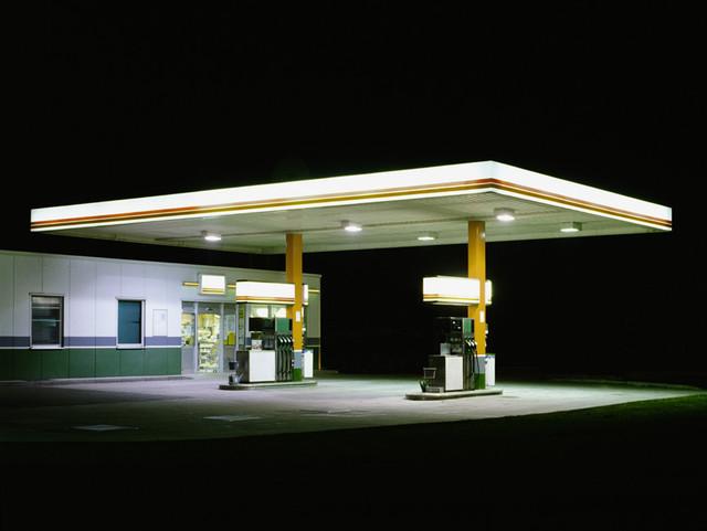 , 'Petrol Stations (White, Brown),' 1998, Bernhard Knaus Fine Art