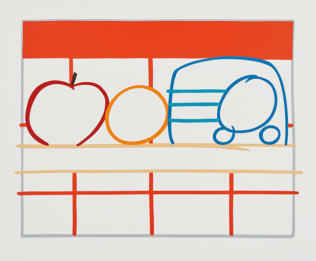 Tom Wesselmann, 'Still Life with Apple, Orange and Radio', 1991, Phillips