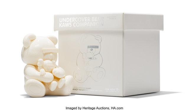 KAWS X Jun Takahashi, 'Undercover Bear Companion (White)', 2009, Heritage Auctions