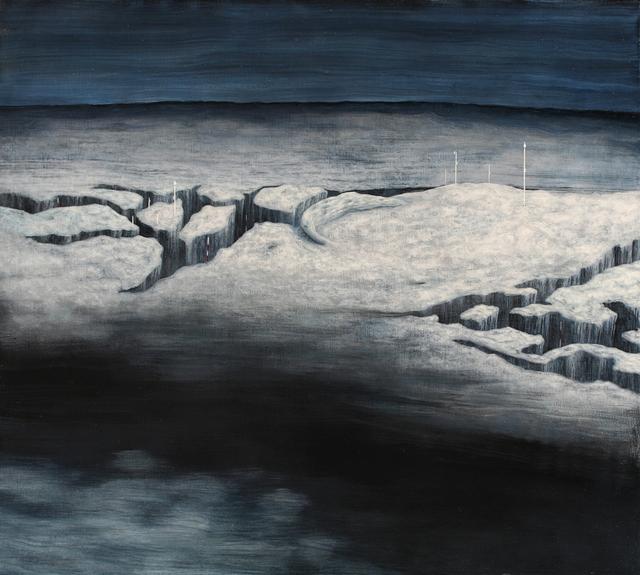 , 'Crevasses,' 2009, C. Grimaldis Gallery