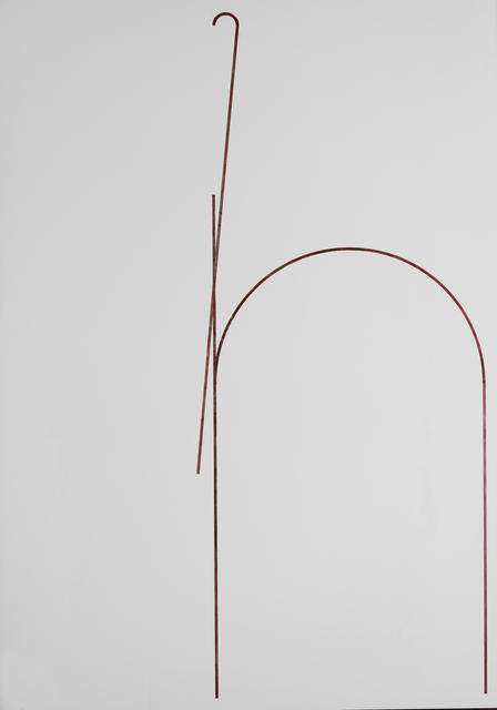 , 'Georgian Letter (ჩ),' 2013, Galerie Buchholz