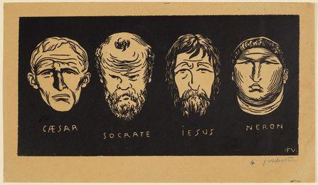 Caesar, Socrates, Jesus, Neron