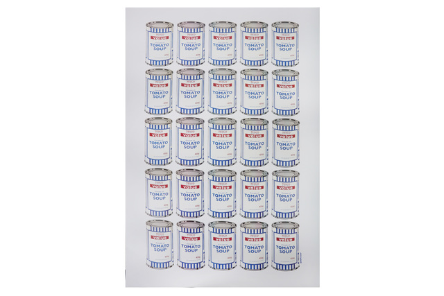 Banksy, 'Soup Cans', 2010, Chiswick Auctions