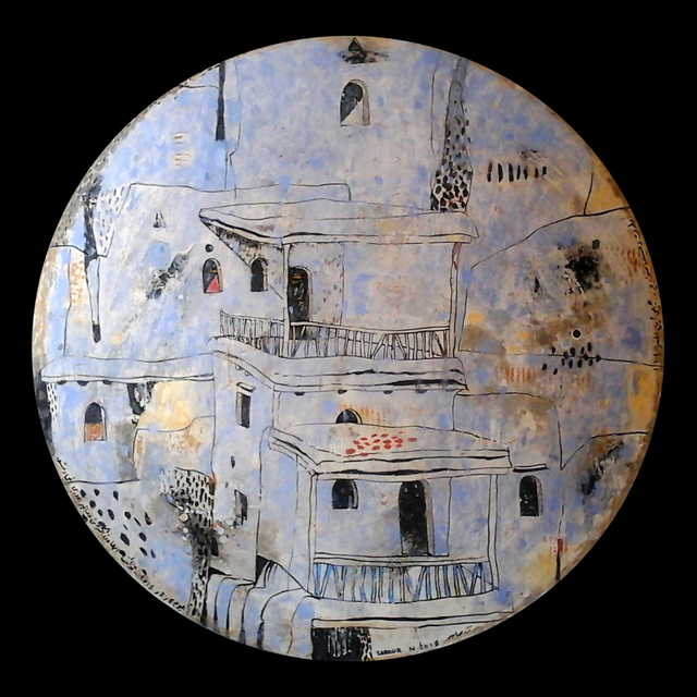 Nizar Sabour, 'Maalouliyat', 2015, Mixed Media, Mixed Media on Wood, Mark Hachem Gallery