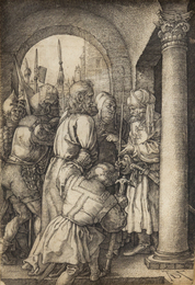 Christ before Pilate (from The Engraved Passion)