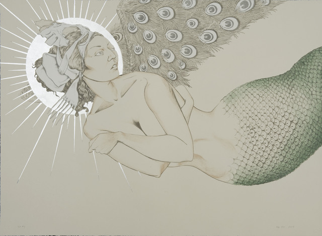 , 'Mermaid in Flight,' 2009, Tamarind Institute