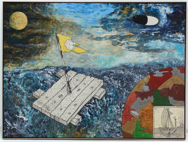 , 'Aegis for L. Johnson,' 2008, Hosfelt Gallery