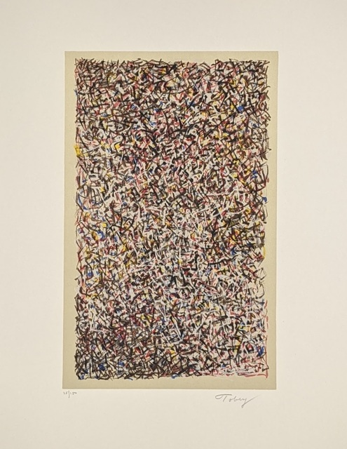 Mark Tobey, 'Stained Glass ', 1970, Print, Lithograph, Bethesda Fine Art