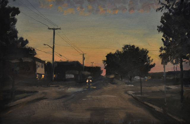 , 'Sunset (Ithaca, NY),' 2010, Main Street Arts