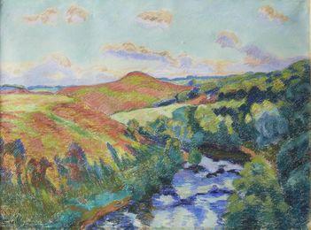 'Le Puy Barriou, Paysage de la Creuse, Aout, 1916'