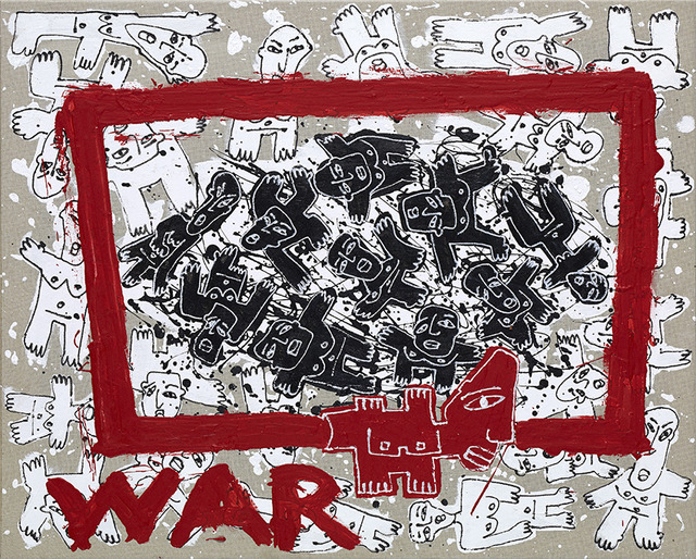 , 'War,' 2016, Marlborough Madrid & Barcelona