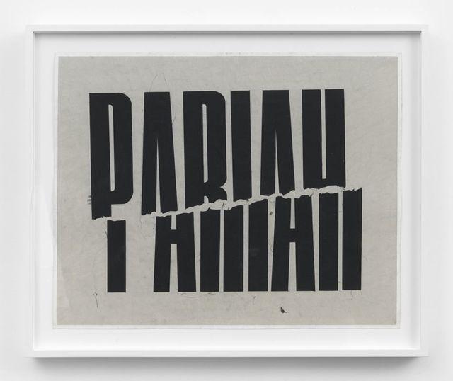 , 'Pariah,' 2016, John Wolf Art Advisory & Brokerage