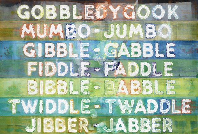 , 'Gobbledygook,' 2016, Two Palms