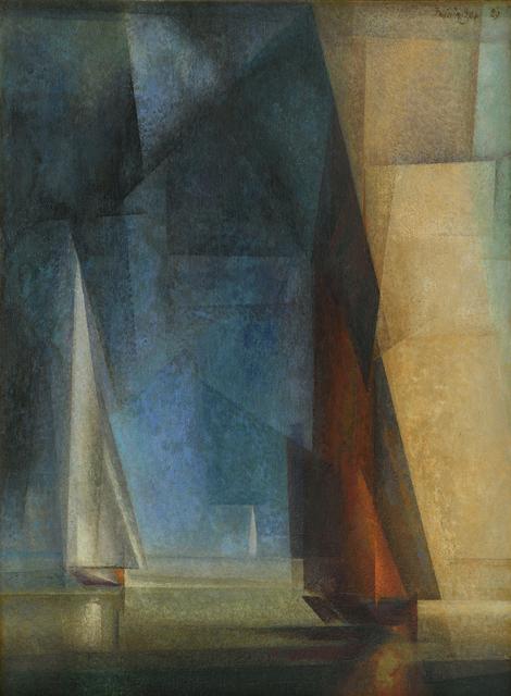 Lyonel Feininger, 'Stiller Tag am Meer (Calm at Sea III)', 1929, Moeller Fine Art