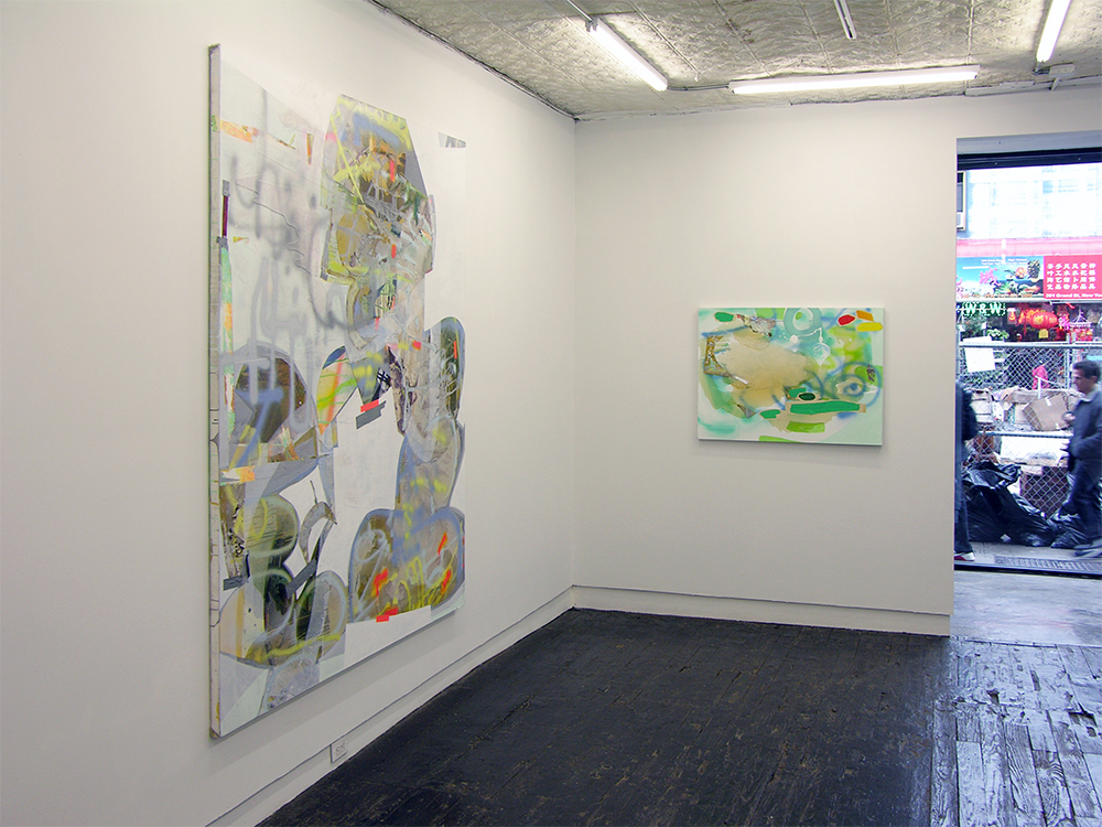 Installation view of Gasoline Rainbows, 2016