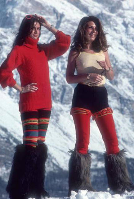 , 'Winter Wear, Cortina d'Ampezzo,' 1976, Undercurrent Projects