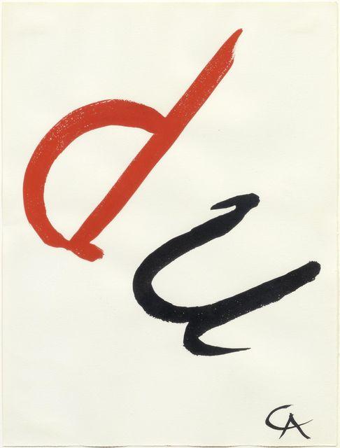 Alexander Calder, 'du', 1965, Simoens Gallery