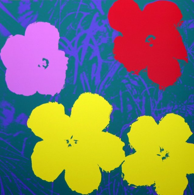 Andy Warhol, 'Flowers Yellow Green - Sunday B. Morning (After)', ARTEDIO