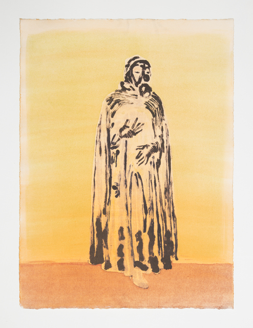 , 'The Sentinel (orange),' 2018, Night Gallery