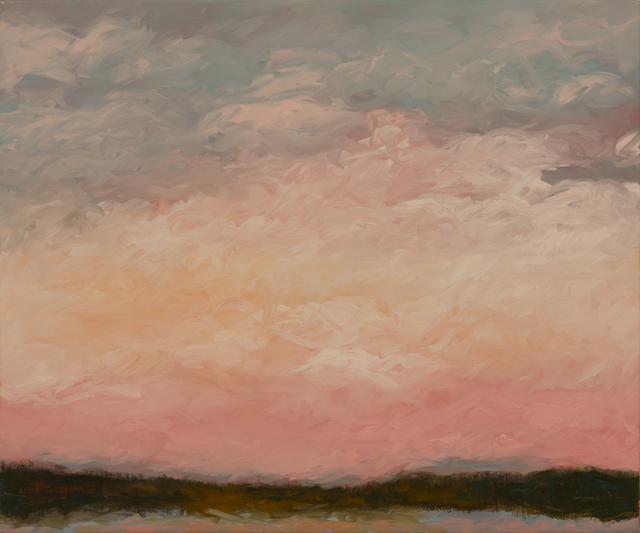 , 'October Pink Sky,' 2017, InLiquid