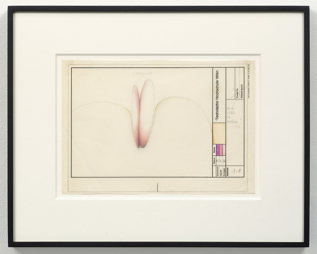 , '2 Höhepunkte (2 Climaxes),' 1976, Richard Saltoun
