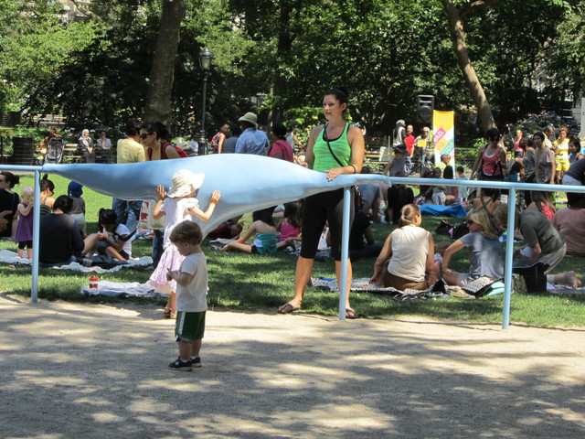 , 'Blue Blob,' 2012, Madison Square Park